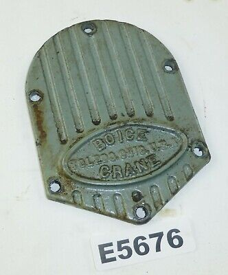 Boice Crane - Oscillating-rotary Spindle Drum Sander Parts Gearbox Cover