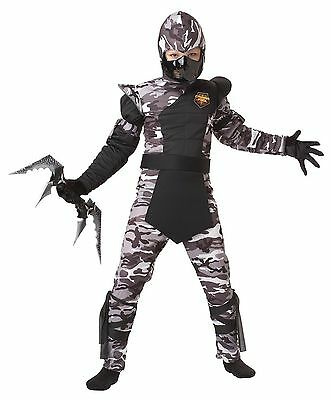 California Costumes Arctic Forces Ninja Child Costume, Size Large](Baby Ninja Costumes)