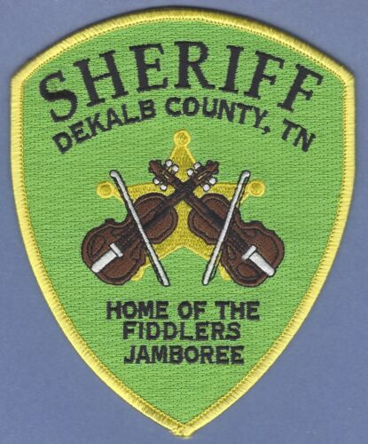 DEKALB COUNTY SHERIFF TENNESSEE SHOULDER PATCH