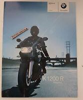 Bmw K1200 R Catalogo Depliant Brochure Reclame Pubblicita Prospekt -  - ebay.it