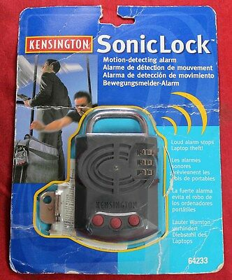 Kensington SonicLock w/ Motion Detecting Alarm - Stops Laptop Theft