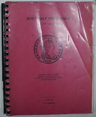R  V  Roederer Bust Half Price Guide Book June 1987   August 1992