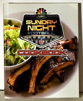 Nbc Sunday Night Football Cookbook 150 Great Recipes Brand New  Free Shipping
