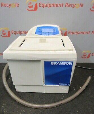 Branson Cpx5800h Ultrasonic Cleaner Bath Heated Digital Cpx-952-518r 2.5gal