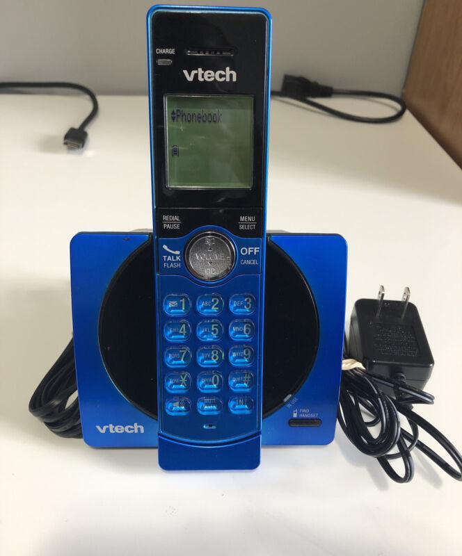 VTech DECT 6.0 Single Handset Cordless Phone w/ CID, Backlit Keypad & Screen