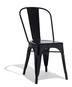 Black-Restaurant-Cafe-Dining-Tolix-Chairs