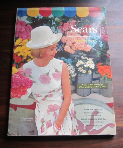 Vintage SEARS Roebuck Catalog 1964 Summer SEATTLE Washington Edition Rare