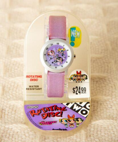POWERPUFF GIRLS Character Wrist Watch CARTOON NETWORK Timepiece Rotates ARMITRON