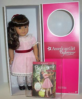 AMERICAN GIRL DOLL SAMANTHA  A BEFOREVER  DOLL AND BOOK  NEW WITH BOX