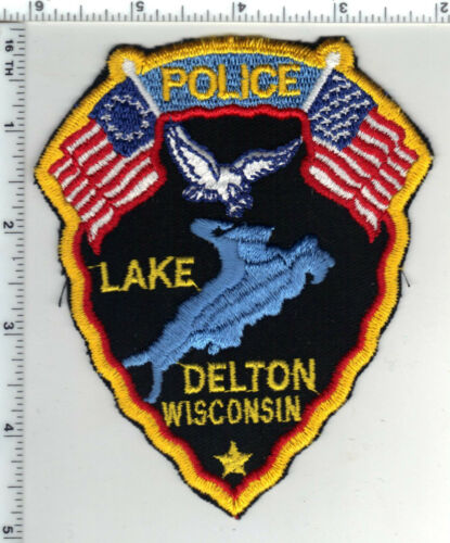 Lake Delton Police (Wisconsin) 1st Issue Shoulder Patch