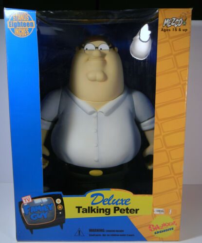 2005 FAMILY GUY DELUXE TALKING PETER GRIFFIN BY MEZCO