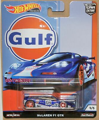 HOT WHEELS 2019 CAR CULTURE GULF RACING MCLAREN F1 GTR