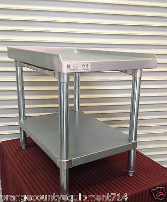 New 18 X 30 Equipment Stand 2083 Griddle Hot Plate Table Stainless Steel Nsf