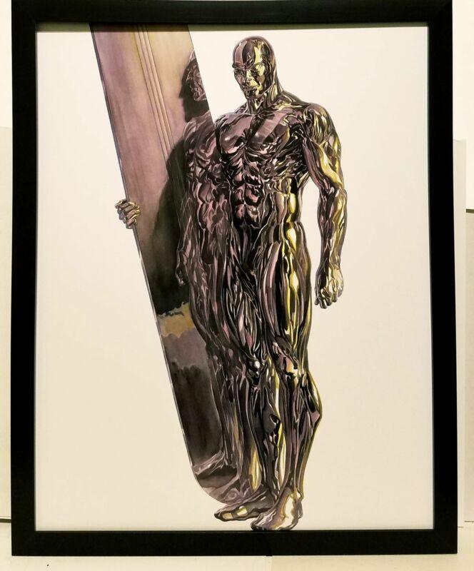 Silver Surfer Timeless by Alex Ross FRAMED 11x14 Art Print Marvel Comics Poster