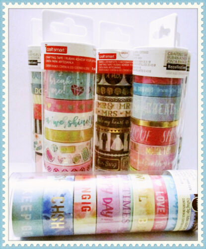 Recollections washi Tapes,  Craftsmart Washi tape - Assorted FREE SHIPPING!