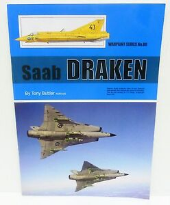 Warpaint Series No.80 - Saab Draken             44 Pages               Book