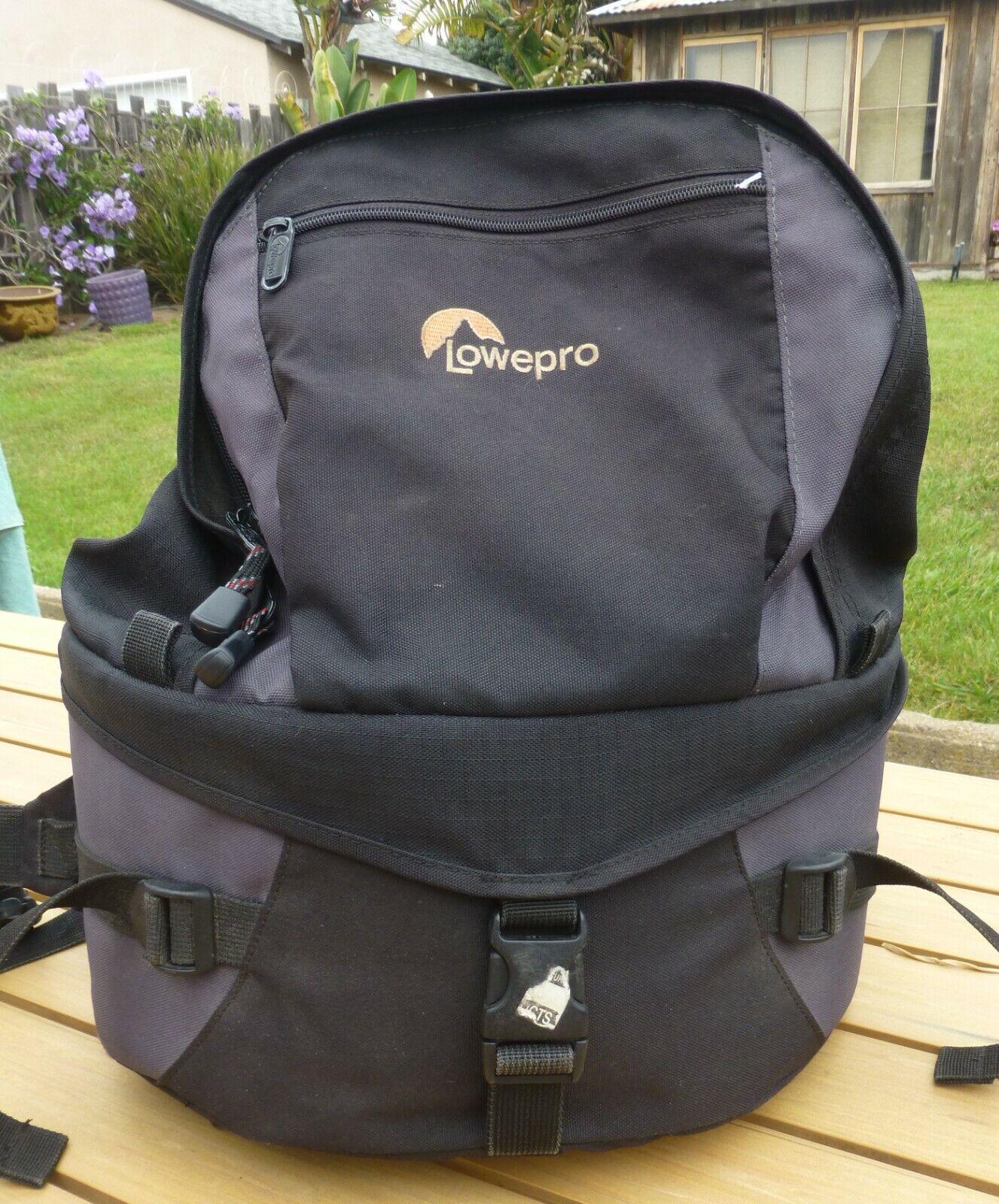 Lowepro Orion Trekker Digital SLR Black Camera Photo Backpack Bag  - $17.00