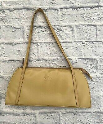 Authentic Gucci Handbag Beige Leather. Small/Medium Size Bag