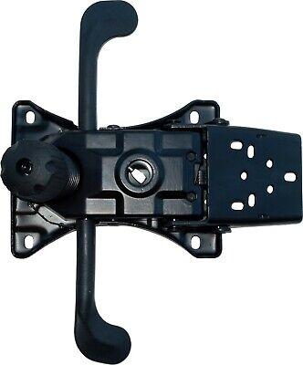 Heavy Duty Synchro Tilt Chair Mechanism Rocker Base Plate W Angled Back Bracket
