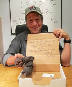 Mike-Rowe-Signed-Polar-Bear-Poo-from-Dirty-Jobs-Episode