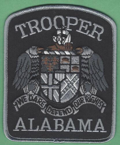 ALABAMA STATE TROOPER POLICE SHOULDER PATCH TACTICAL GRAY