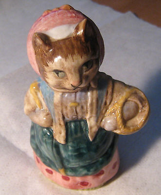 """Beatrix Potter BESWICK England """" Cousin Ribby """" Figurine #'d Numbered 31"""