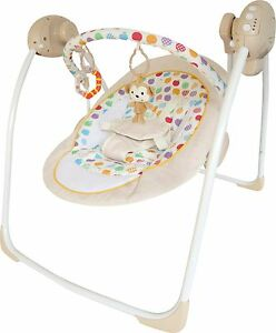 Bebe Style RokR Baby Cradling Swing Musical Vibration Chair Seat Rocker bouncer