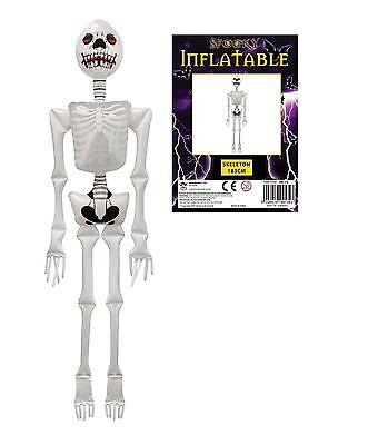 aufblasbar NEUHEIT Spielzeug Skelett Spinne Devil Gabel Fledermaus Halloween