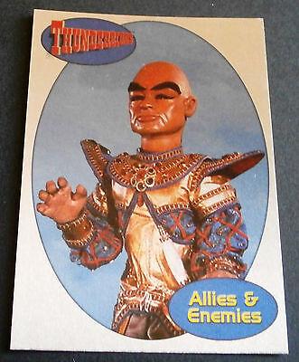 THUNDERBIRDS ALLIES & ENEMIES F14 - THE HOOD - Cards Inc. 2001