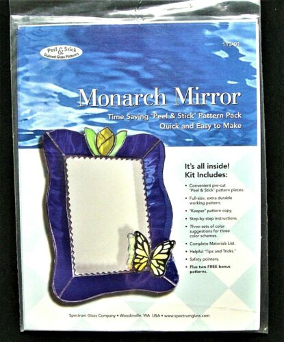 Stained Glass Pattern :MONARK MIRROR KIT