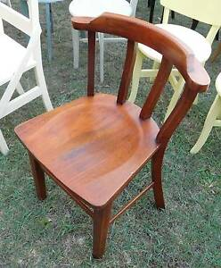 Vintage Silky Oak Office Chair Coopers Plains Brisbane South West Preview