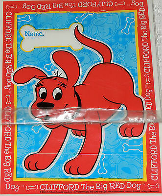 ~CLIFFORD THE BIG RED DOG~ 8-LOOT BAGS    PARTY SUPPLIES (Clifford Party Supplies)