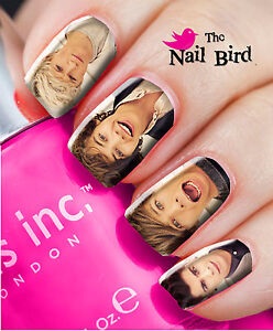 Xmas Stocking Filler ONE DIRECTION #2 MIXED SET Decals Nail Transfers Nail WRAPS