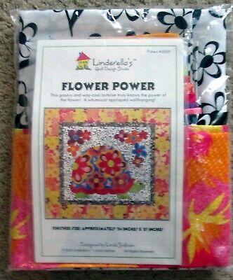 "1 Wonderful ""Flower Power Kit"" Cotton Home Decor Sewing Fabric"