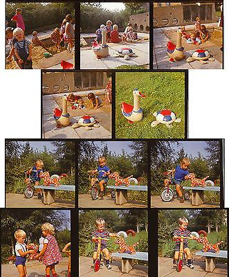 11 Stück Reklame Foto Negativ 60 mm um 1975 von Renate Müller DDR  RAR ( 376