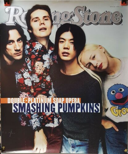 SMASHING PUMPKINS - Rolling Stone Magazine cover Promo Poster! 1994  AWESOME NM!