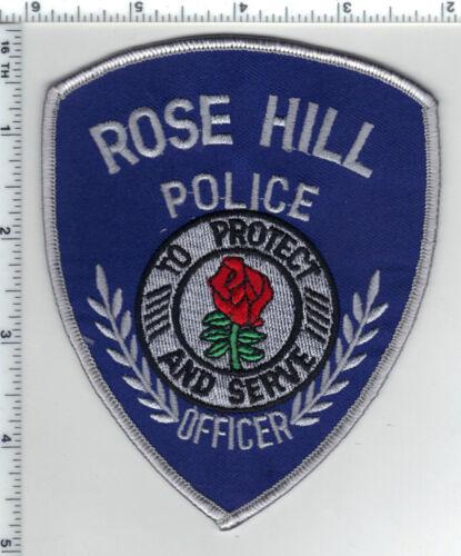 Rose Hill Police (Kansas) Shoulder Patch - new