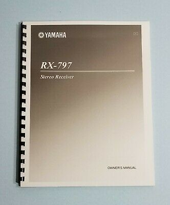 Used, Yamaha RX-797 Receiver Owner's Manual - Operating Instructions for sale  Shipping to India