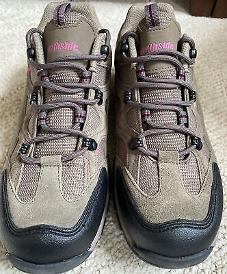 Northside Women's NEW Snohomish Low Hiker Shoes Suede Trail Hiking Boots size...