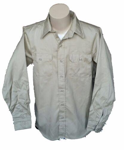 Westex Khaki FR Cotton Long Sleeve Welding Shirt