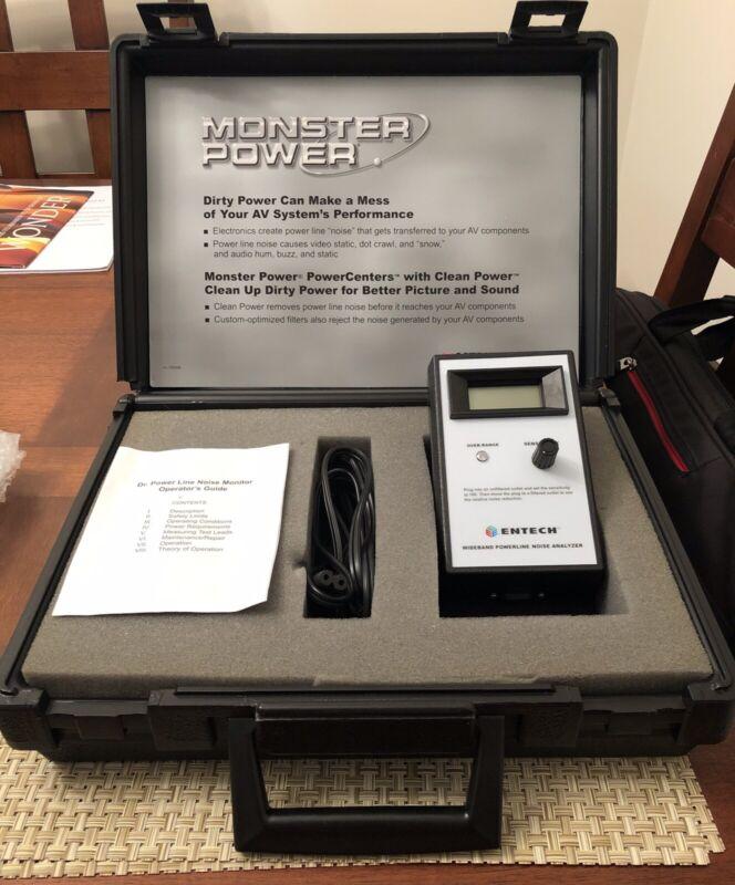 Monster Power Line Noise Analyzer Video/Audio - Research A/ C Line Noise Entech