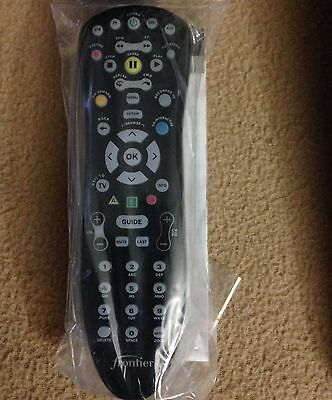 Brand New Frontier  At T U Verse Universal Black Remote Control