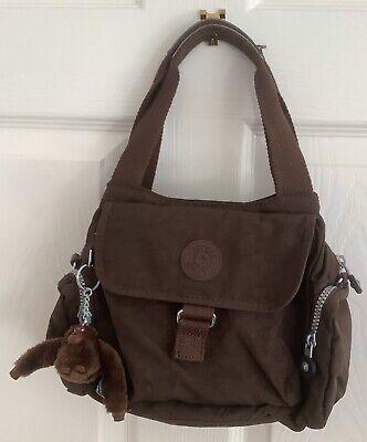 Kipling Brown Bag With Monkey