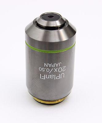 Olympus Uplanfl 20x 0.50 Microscope Infinity Objective Ax Bx Ix