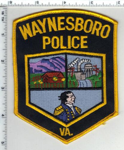Waynesboro Police (Virginia) 2nd Issue Shoulder Patch