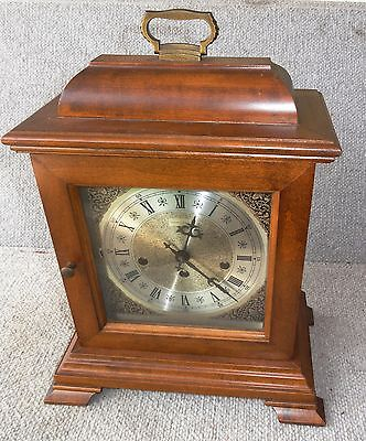 Hamilton Wheatland Mechanical Westminster Chime EIGHT  DAY Mantel Clock working
