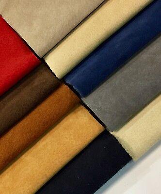 Pig Crafts (Premium Garment Grade Pig Suede Leather Hide 0.6-0.8 mm 7-9 sqft color)