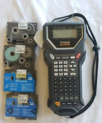 Brother P-touch Industrial Label Maker Pt-7500 With Tapes Tested Works