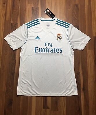 - Authentic Men's Adidas Climacool Real Madrid Home Jersey Size Large NWT