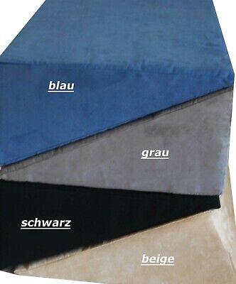 Keil Stützkissen (Lesekissen Bettkeil Lesekeil Lagerungshilfe Stützkissen Lendenkissen 4 Farben)